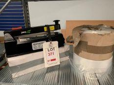 Pacplus Impulse heated bag sealer 350W, with 2 rolls of bags