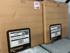 Two Kampa Chilly Bin Cool Box's 50 litre