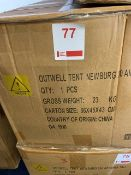Outwell Newburg 260 air extra tall drive away awning for motorhomes (Boxed)