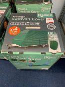 Kampa Prestige Caravan Cover Triple Layer Green, to fit 19'-21'