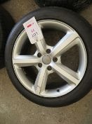 """Set of 4 Audi alloy wheels SUV 20"""" with tyres"""