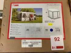 Fiamma 300 Large Privacy Room awning length 300cm height from ground 251-280cm (Boxed)