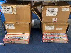 Four boxes of various Fiamma tie down kits