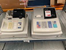 Sharp Cash register & a Casio Cash Register