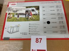Fiamma 440 XL ZIP wind out caravan store length 449cm height from ground 240-260cm (Boxed)