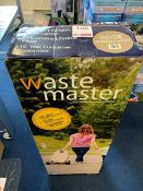 Wastemaster 38 litre portable waste carrier colour: beige