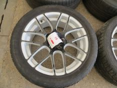 """Set of 4 VW alloy wheels for SUV 20"""" with tyres"""