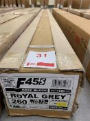 Fiamma F45s 2.6m wind out van/motorhome awning deep black case royal grey fabric (Boxed)