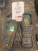 Two Protimeter digital moisture meters
