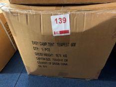 Easy Camp Tempest 600 Tent (Unused)
