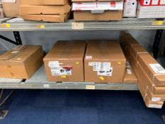 Contents of shelf to include Fiamma garage systems upgrades and garage boxes as lotted