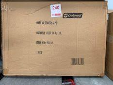 Outwell Deep Cool 28 litre Cool Box