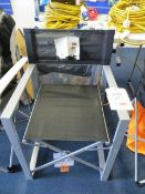 Two Yellowstone folding Directors Chairs (1 ex-display, 1 boxed)