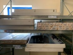 Vango Mammoth Double Folding Storage Unit, Two Dometic Element Large Folding Waterproof Tables,