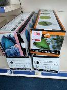 Four Vango Allure 7.5cm mattress