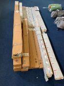 Twenty-Four various Fiamma side walls, rail strips & bike rack rails as lotted