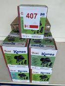 Twenty one Kampa Gust 12v pumps
