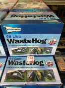 Five Leisurewize 46 litre Waste Hogs