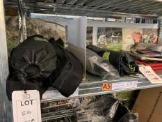 Three Yellowstone Folding Camp Beds, Robens Searcher Chair, Kampa Mini Tub Chair, Kampa Camping