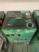 Kampa Prestige Caravan Cover Triple Layer Green, to fit 17'-19'