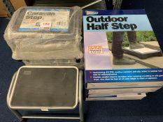 Four Streetwize caravan steps, Four Streetwize half steps