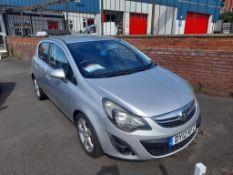 Vauxhall Corsa 1.2 SXi 5-door (AC) hatchback Registration no. DY12 KFZ Date of registration: 24/05/
