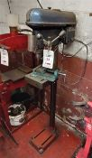 Meddings DTB 6524 floor standing pedestal drill, 3 phase (The purchaser is responsible for the