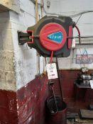 2 LTS UK wall mounted retractable 20m air hoses