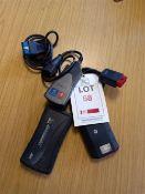 DEC Superscan 3 scanner, Actia PSA XS Evolution scanner and Delphi Bluetooth diagnostic scanner