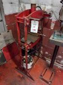 Garage hydraulic press (incomplete)