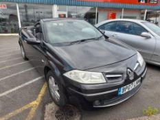 Renault Megane Cabriolet 1.5 dCi Dymanique 2-door coupe Registration no. BP07 LNN Date of