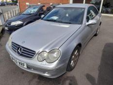 Mercedes-Benz CLK 270 CDi Elegance 2-door Auto diesel coupe Registration no. BP53 VRF Date of