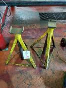 2 heavy duty axle stands