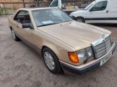 Mercedes 300 (124) CE Auto 2962cc petrol coupe Registration no. 579 KUY Date of registration: 07/