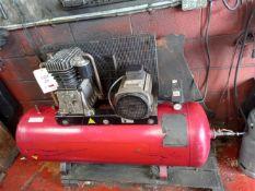Fiac AF21/200 10-bar receiver mounted air compressor Serial no. FP8/85 (2003) (A Risk Assessment and