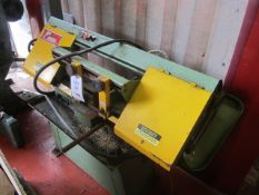 Osen MH-712LB horizontal band saw, MFG No. 67833 (1988). A work Method Statement and Risk Assessment