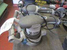 Two MacAllister 240v disc sanders
