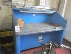 Horizon ED Filto Bench extraction workbench, table size 1850 x 950mm, serial no. 8082 (2001)