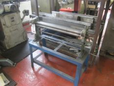 """Unnamed manual operated bending rolls, 30"""" width capacity"""