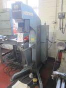 Press & Shear Serta bush model 500 press, pressure capacity 8.5 ton (max 10 ton), M2.5 to M12 into