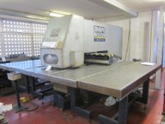 Shape Delta 2 CNC turret punch press, serial no. 45041 (1989), 20 ton punch capacity, punch area