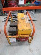 Honda GX450 5.5 2.4 KVA petrol generator * This lot is located at Unit 15, Horizon Business