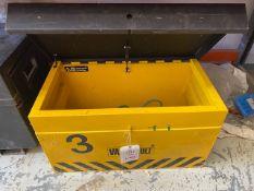 Van Vault Site Safe storage box (no lock) * This lot is located at Unit 15, Horizon Business Centre,