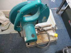 Makita 2414 EN Abrasive Cut of Saw 110V * This lot is located at Unit 15, Horizon Business Centre,