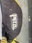 Five Petzl professional double lanyards with intergrated energy absorber. *N.B. This lot has no