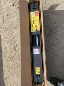 Stanley fold away saw horse unused in box *This lot is located at Gibbard Transport, Fleet Street
