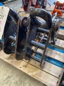 Two 10 tonne Beam Clamps. *N.B. This lot has no record of Thorough Examination. The purchaser must