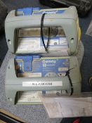 Two Genny Radiodetection 33KHz Signal Generator* This lot is located at Unit 15, Horizon Business