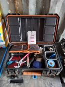 5 x tool carry cases with assorted hand tools *This lot is located at Gibbard Transport, Fleet