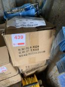 Three boxes of Unused Ratchet Lashings 6 T , 6 M length *This lot is located at Gibbard Transport,
